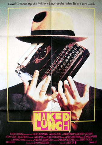 NAKED LUNCH - German poster