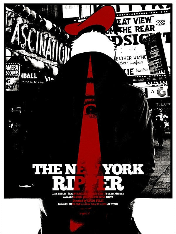 NEW YORK RIPPER, THE by Jay Shaw