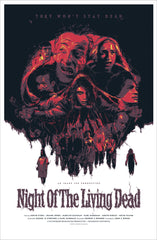 "NIGHT OF THE LIVING DEAD (regular) by Grzegorz ""Gabz"" Domaradzki"