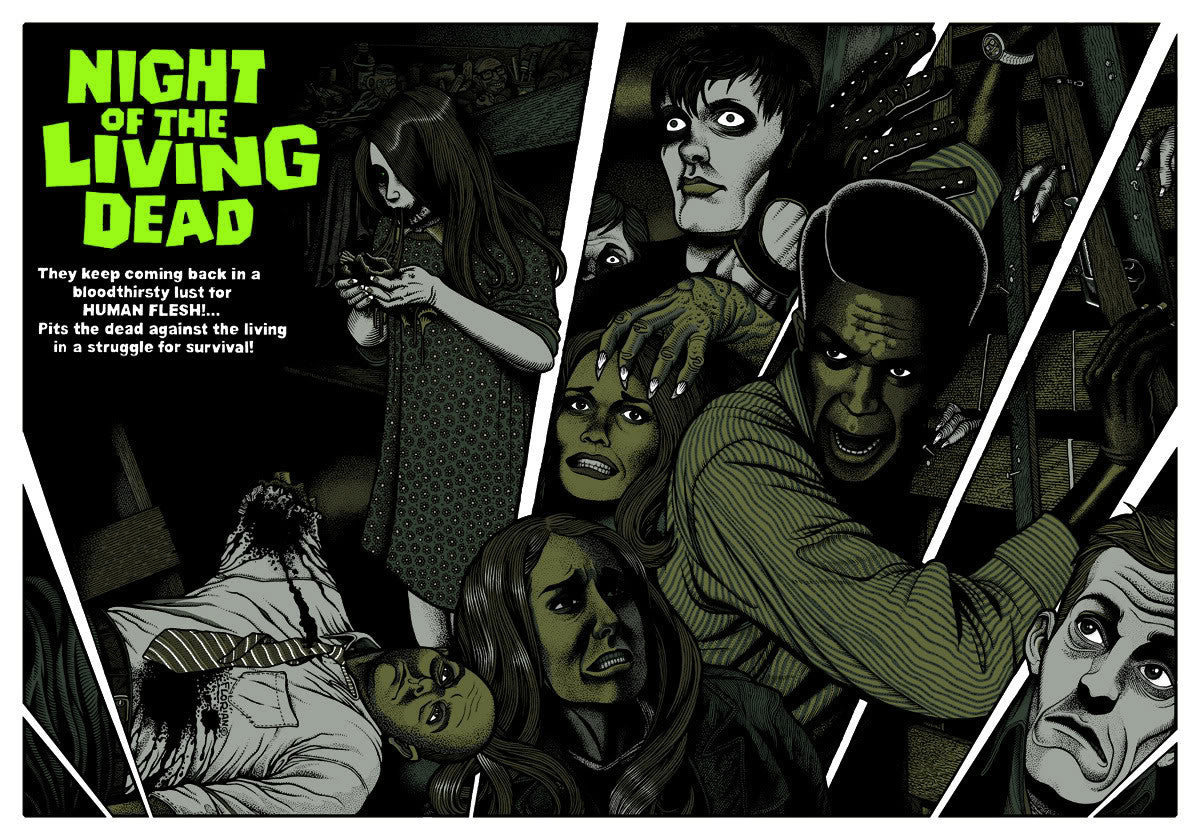 NIGHT OF THE LIVING DEAD by Florian Bertmer