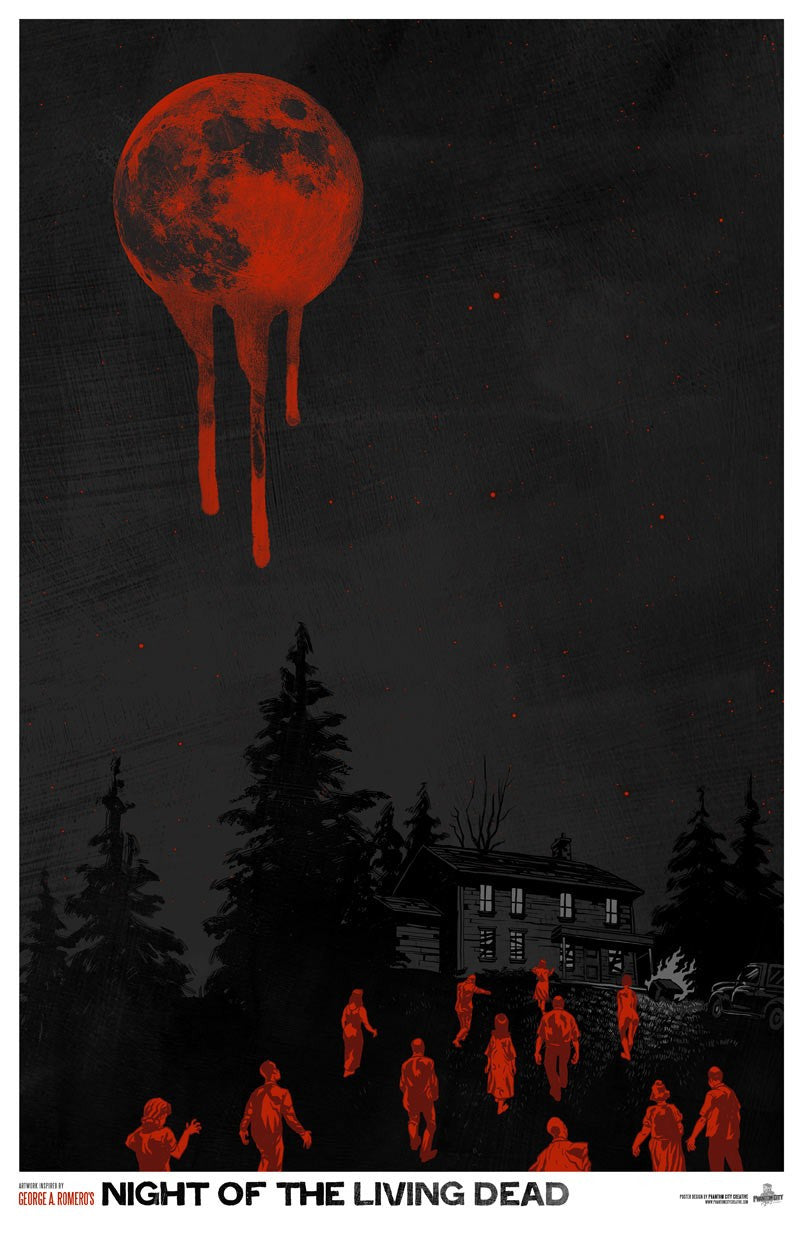NIGHT OF THE LIVING DEAD by Phantom City Creative