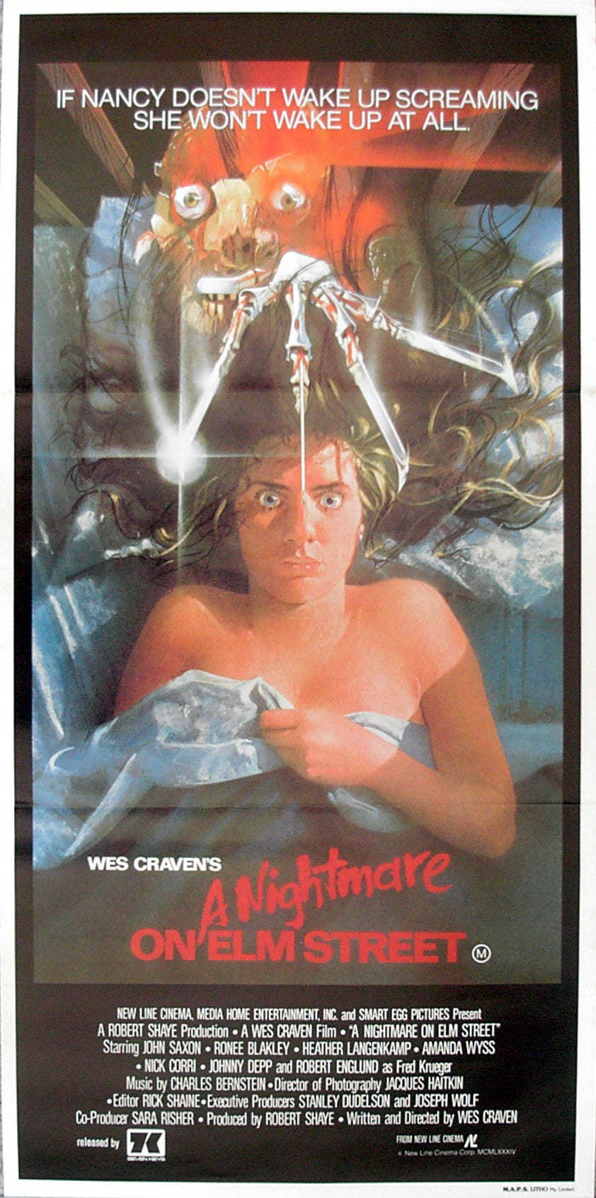 NIGHTMARE ON ELM STREET, A - Australian poster
