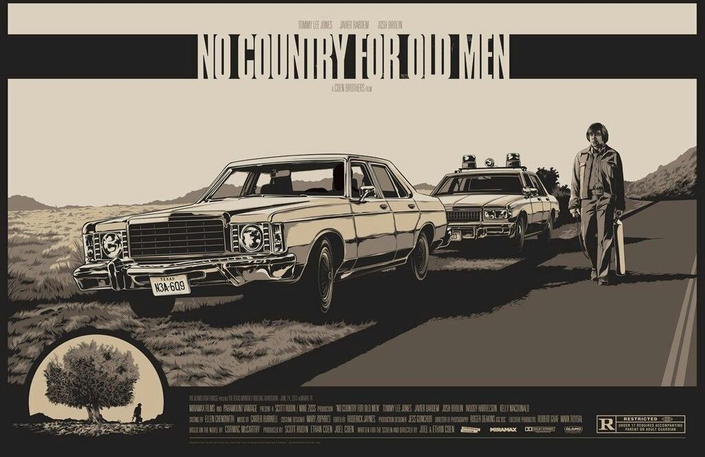 NO COUNTRY FOR OLD MEN (regular) by Ken Taylor