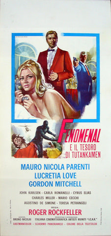 PHENOMENAL AND THE TREASURE OF TUTANKAMEN - Italian locadina poster