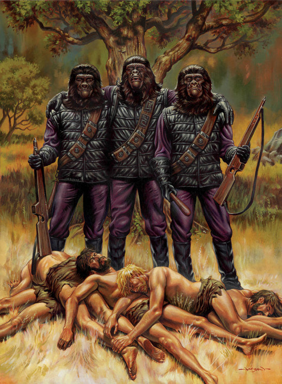 PLANET OF THE APES: TROPHIES by Jason Edmiston