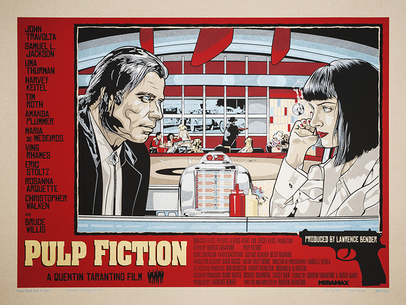 PULP FICTION (regular) by N.E.
