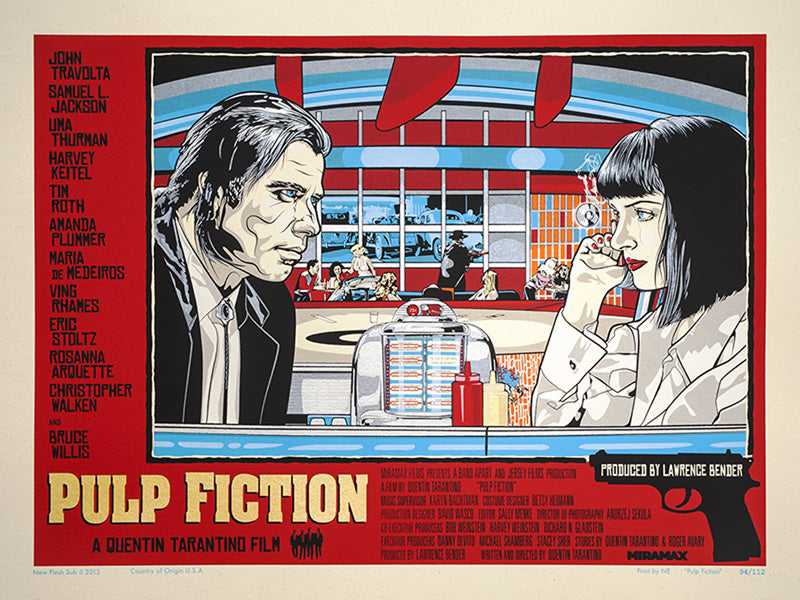 PULP FICTION (variant) by N.E.
