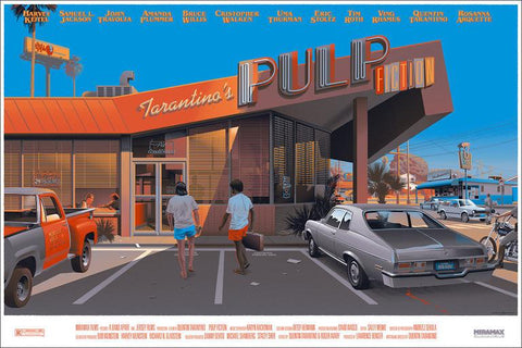 PULP FICTION (regular) by Laurent Durieux