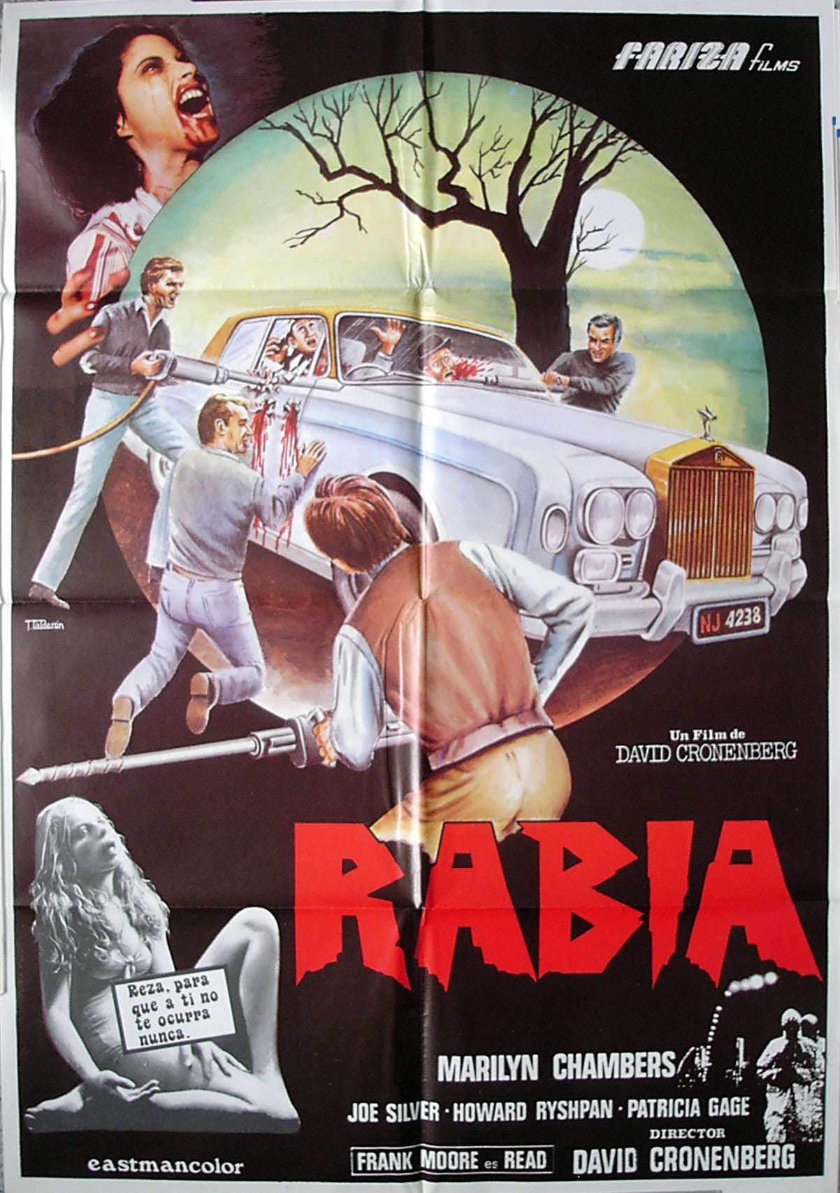 RABID - French poster
