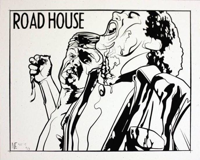 ROAD HOUSE (variant) by N.E.