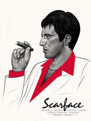 SCARFACE (regular) by Mike Mitchell
