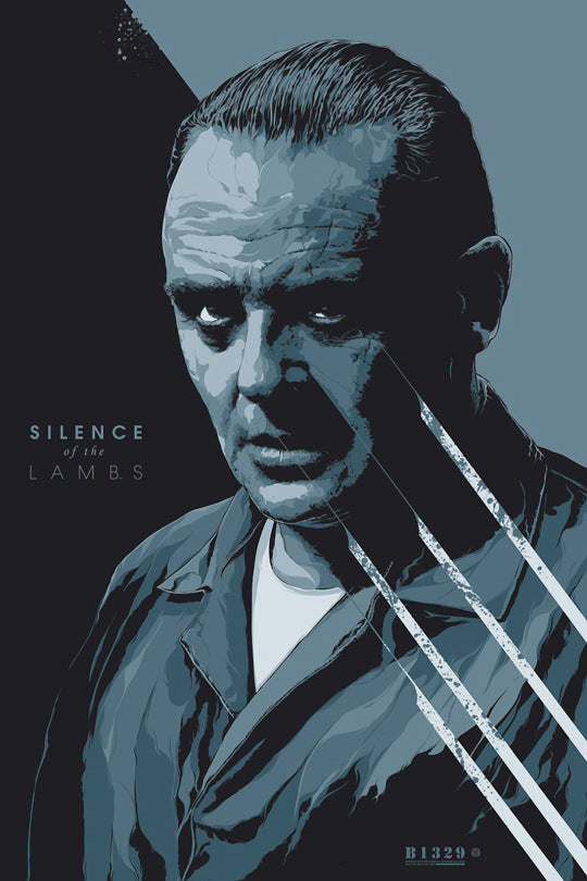 SILENCE OF THE LAMBS (variant) by Ken Taylor