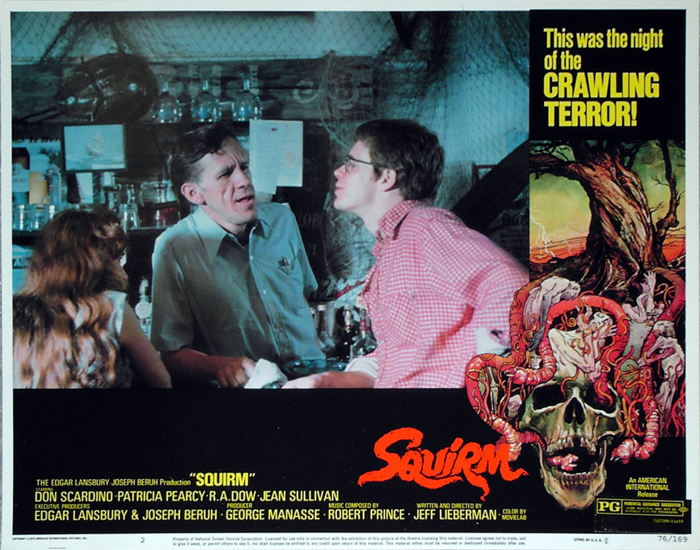 SQUIRM - US lobby card v2