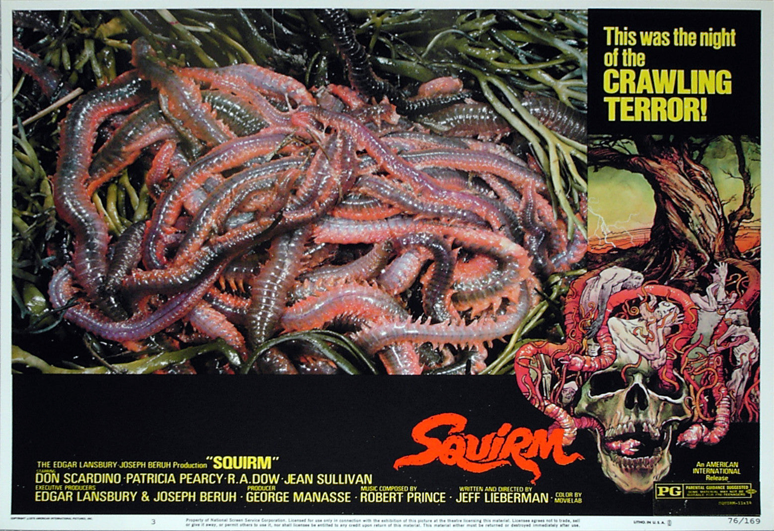 SQUIRM - US lobby card v3