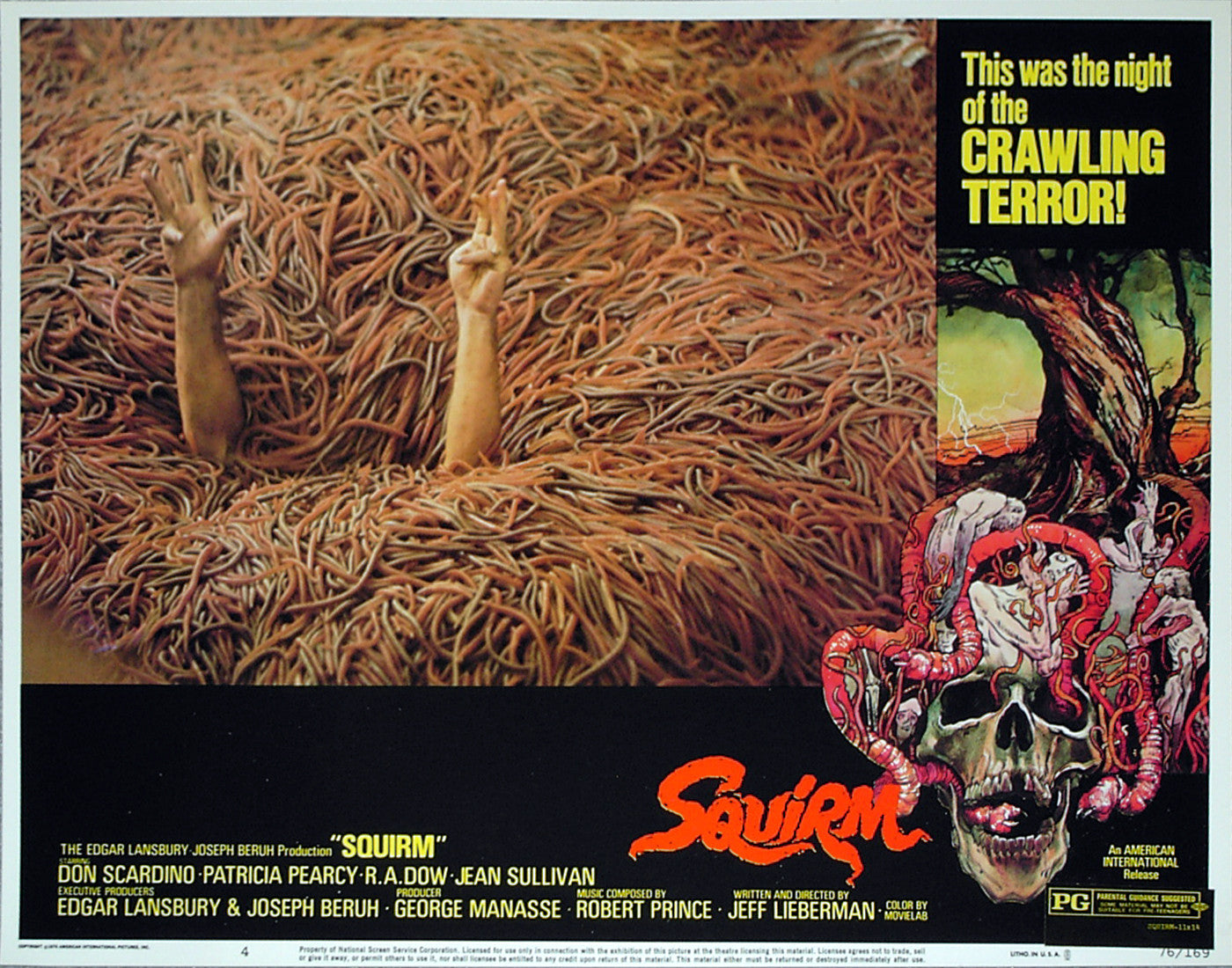 SQUIRM - US lobby card v4
