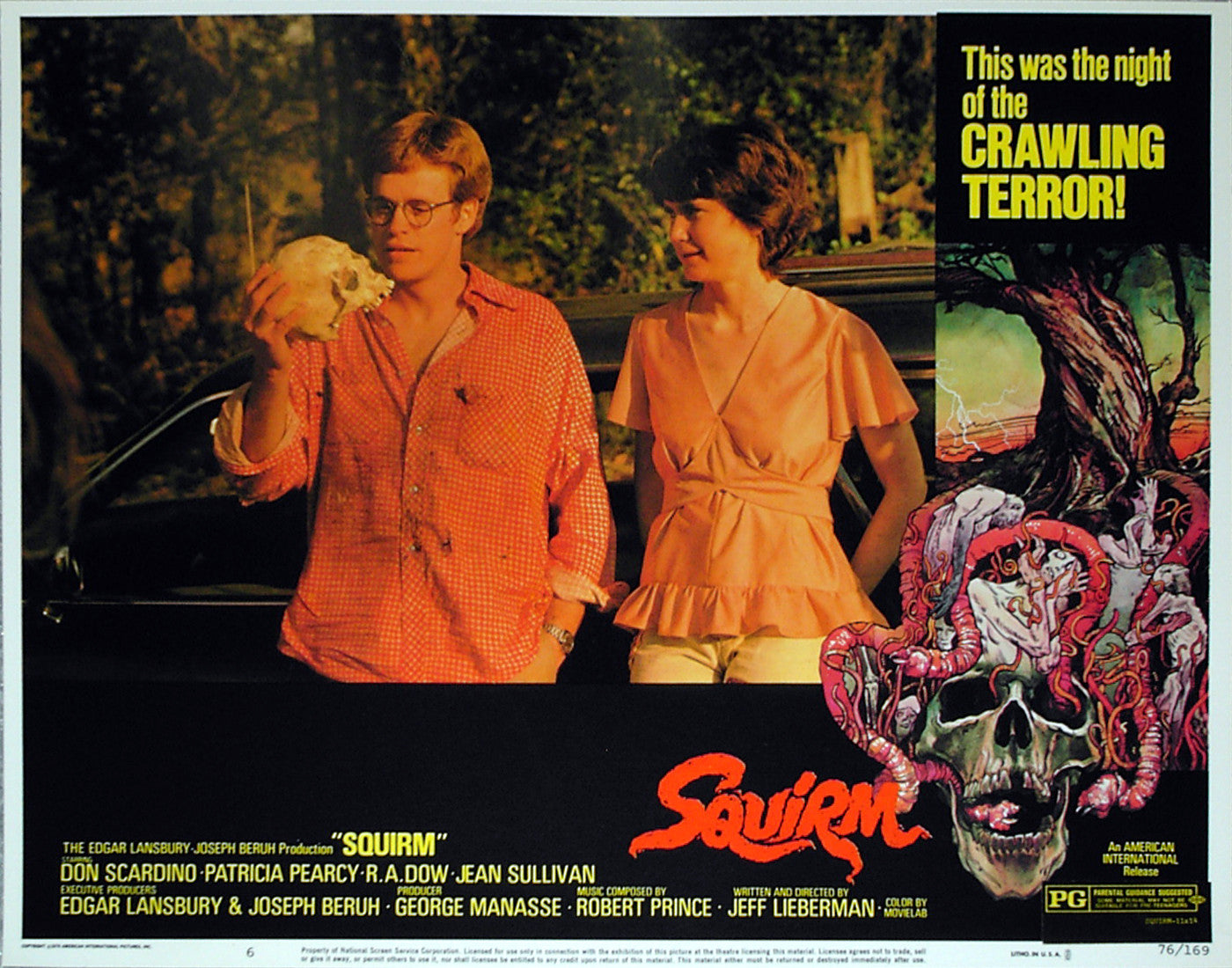 SQUIRM - US lobby card v6