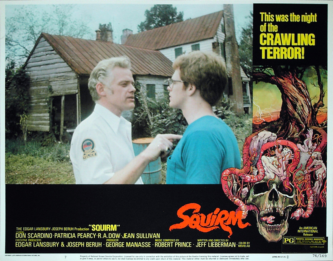 SQUIRM - US lobby card v7