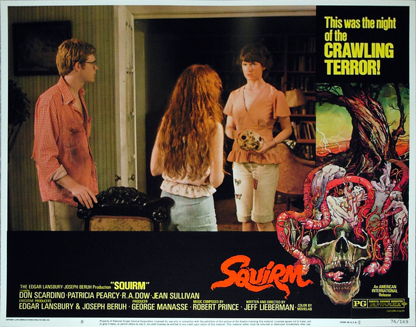 SQUIRM - US lobby card v8