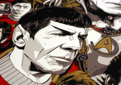 STAR TREK II: THE WRATH OF KHAN (regular) by Tyler Stout