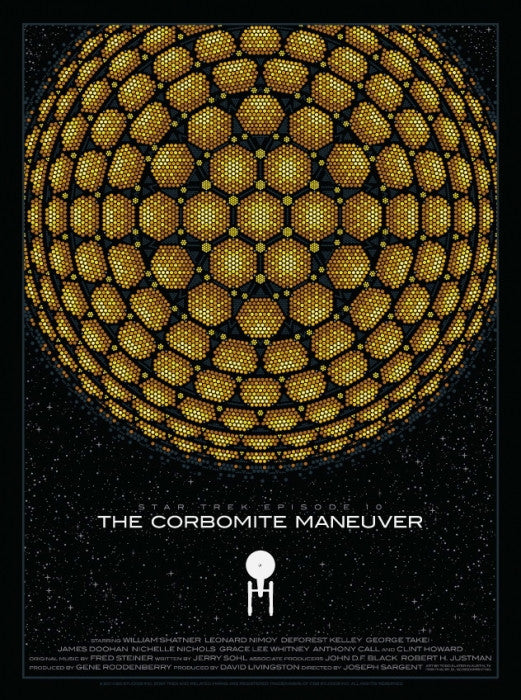 STAR TREK: THE CORBOMITE MANEUVER by Todd Slater