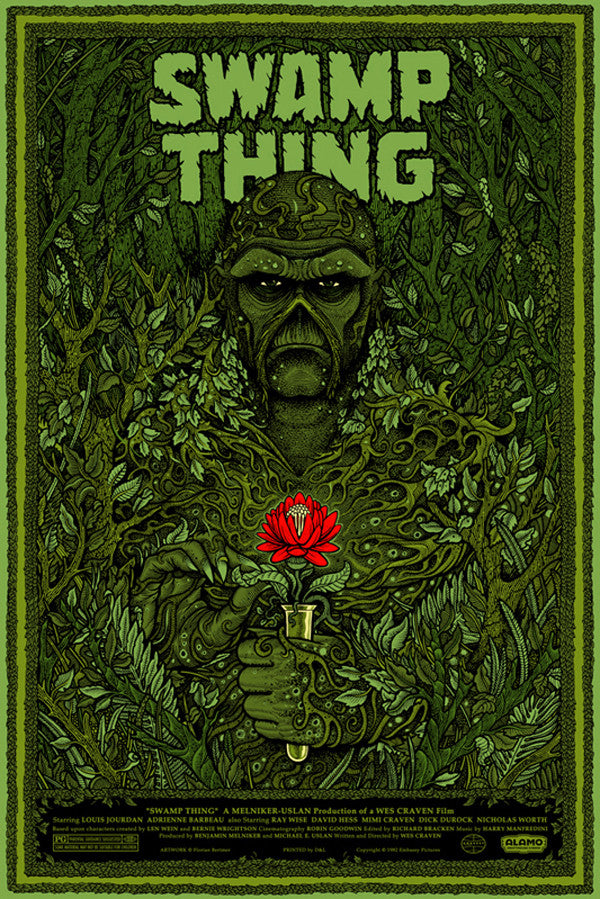 SWAMP THING (regular) by Florian Bertmer