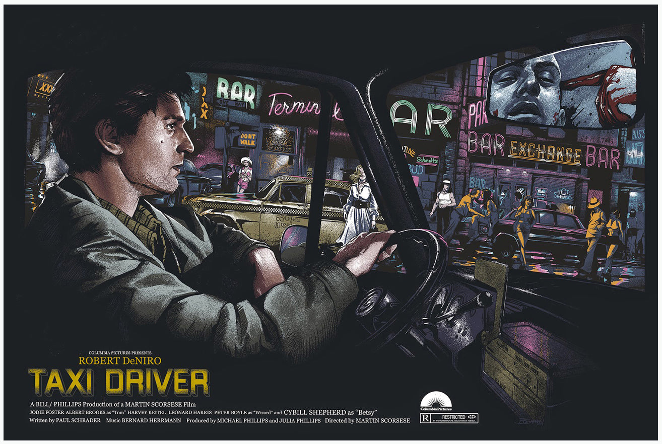 TAXI DRIVER (regular) by Barret Chapman