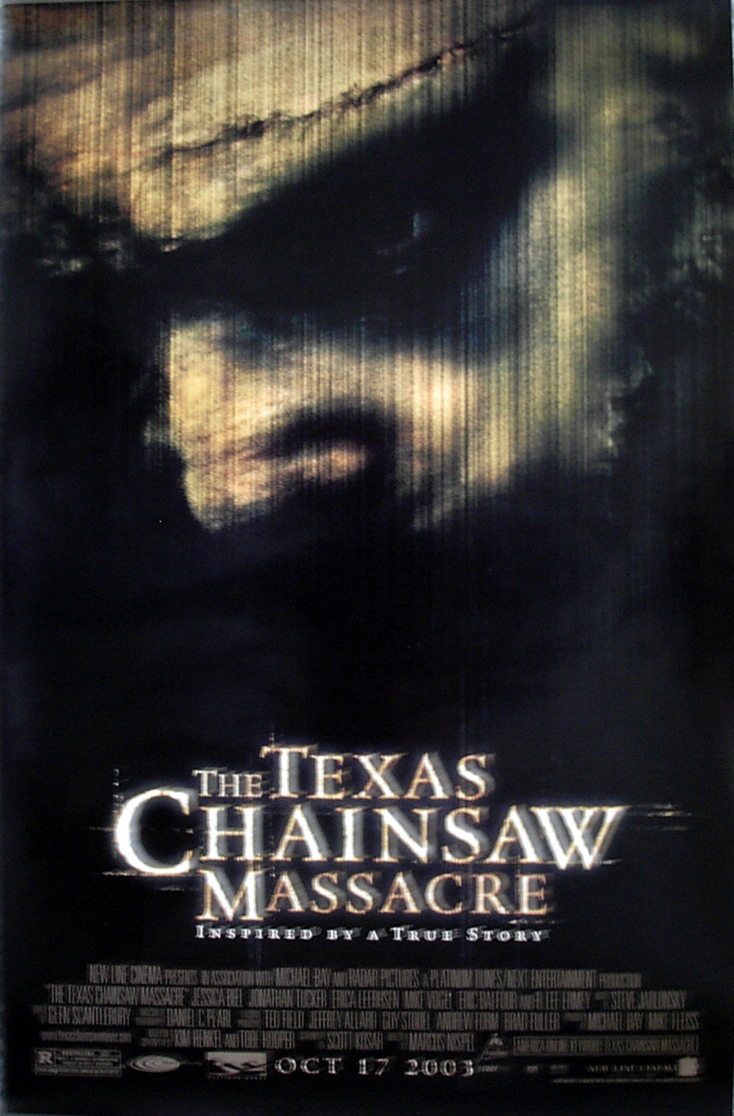 TEXAS CHAINSAW MASSACRE, THE - US small promo poster