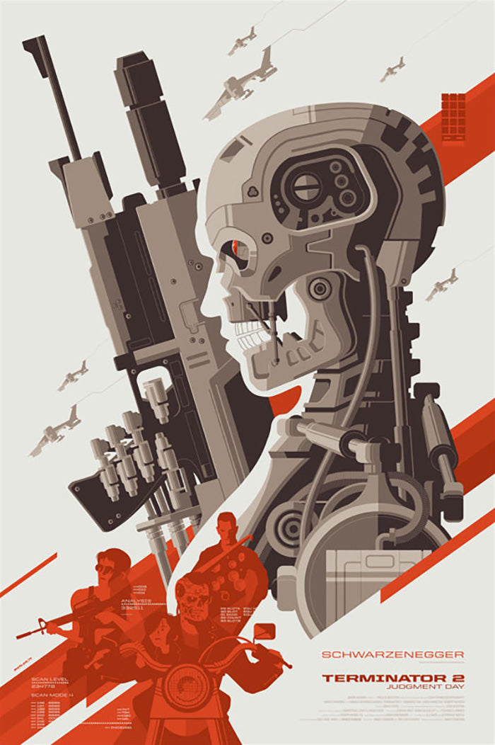 TERMINATOR 2 JUDGEMENT DAY by Tom Whalen