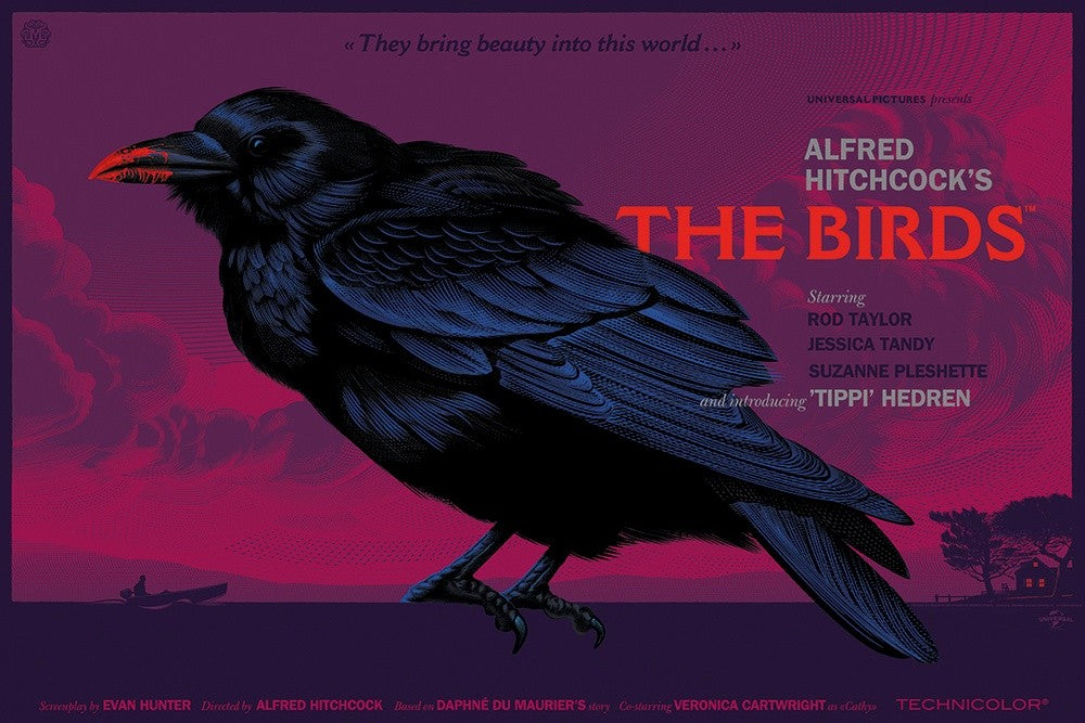BIRDS, THE (THEY BRING BEAUTY) (variant) by Laurent Durieux