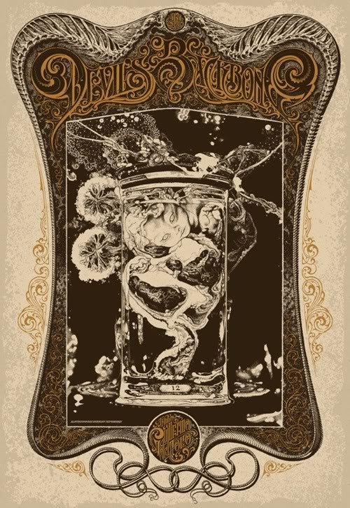 DEVIL'S BACKBONE, THE by Aaron Horkey and Vania Zouravliov