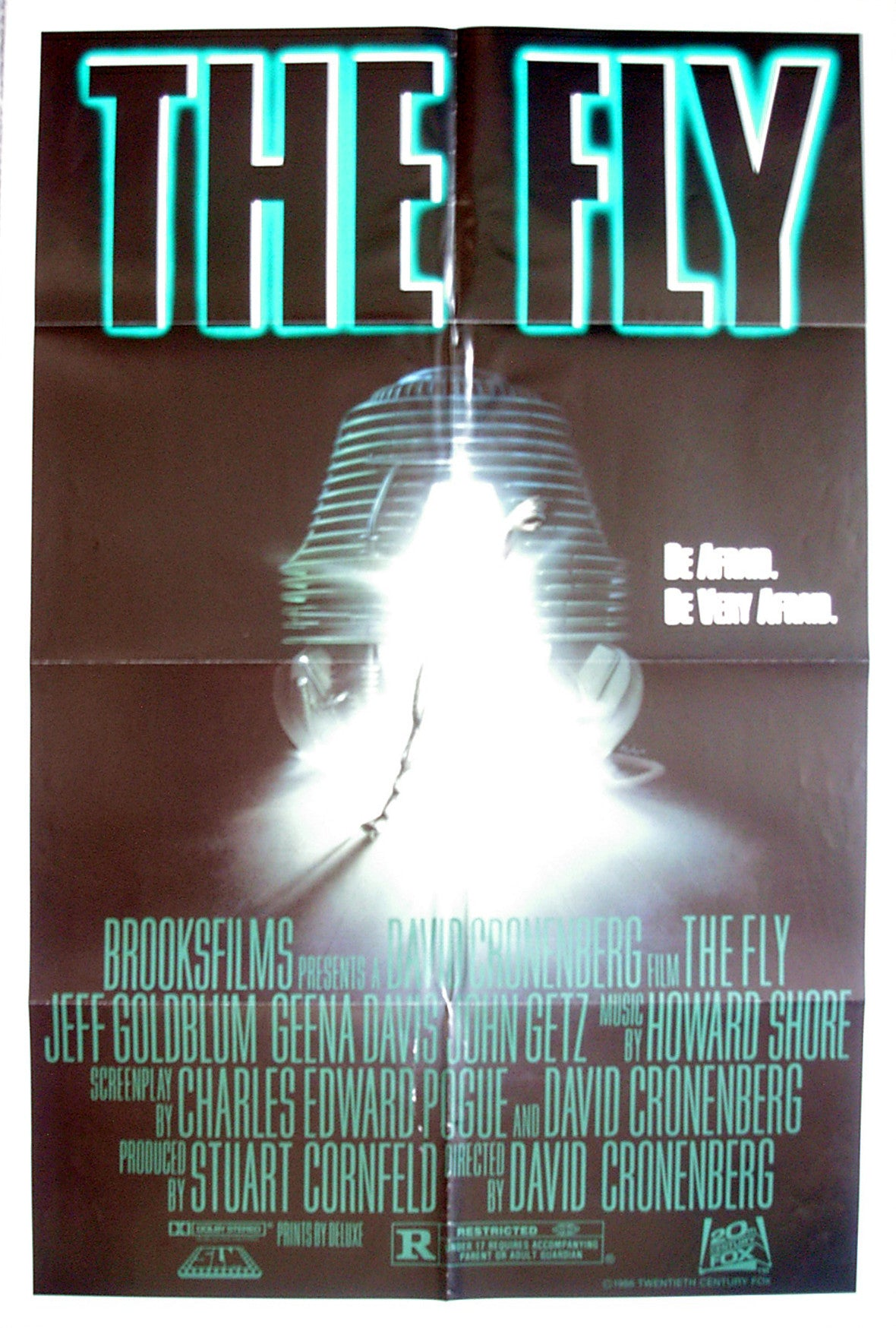 FLY, THE - US one-sheet poster