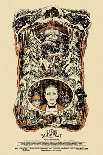 GRAND BUDAPEST HOTEL, THE by Vania Zouravliov