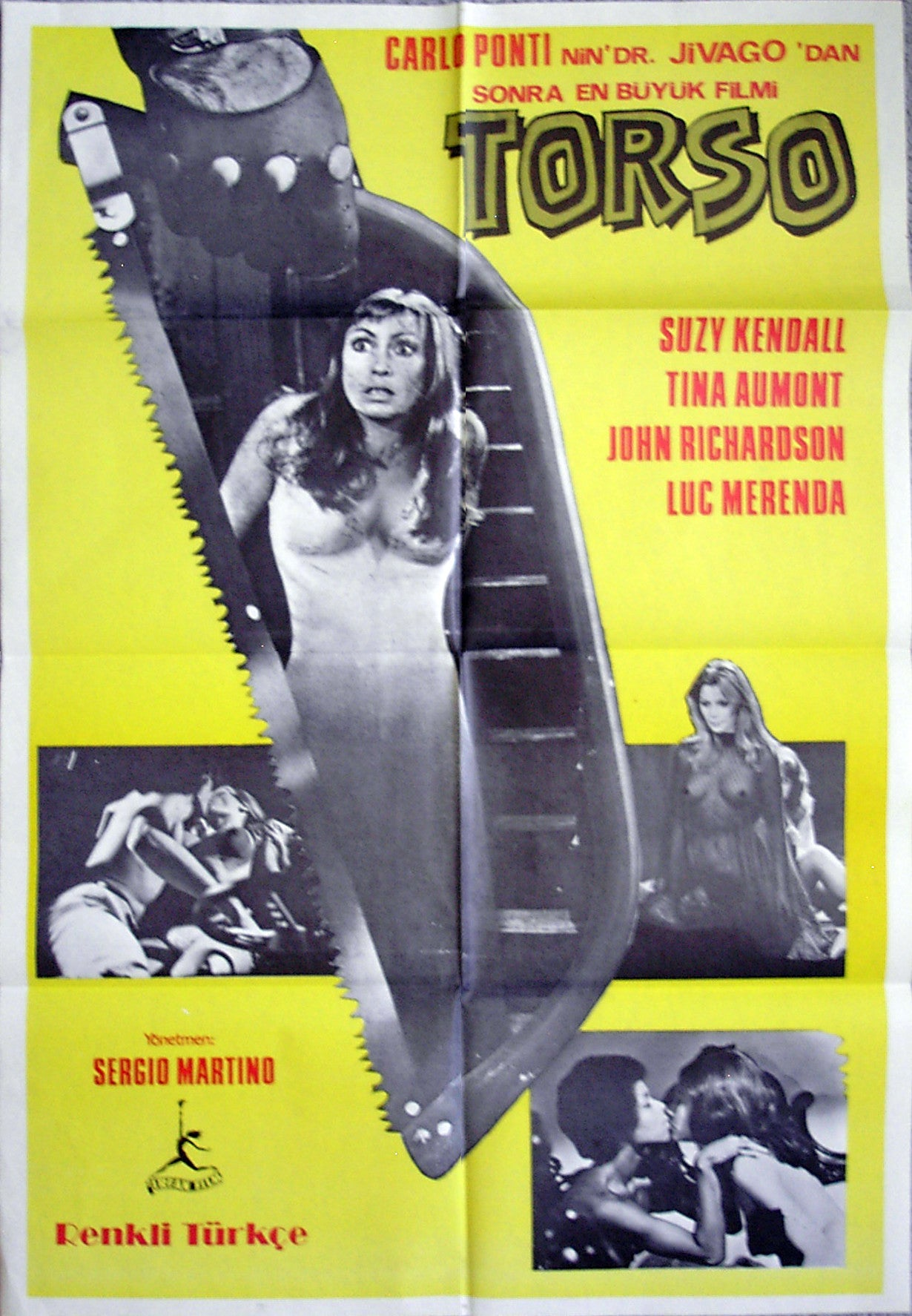 TORSO - Turkish poster