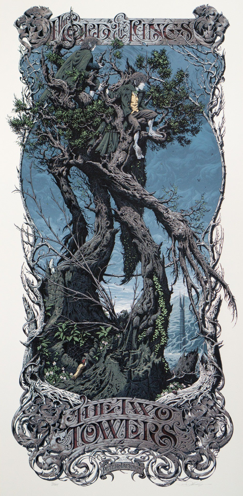 LORD OF THE RINGS: THE TWO TOWERS (regular) by Aaron Horkey