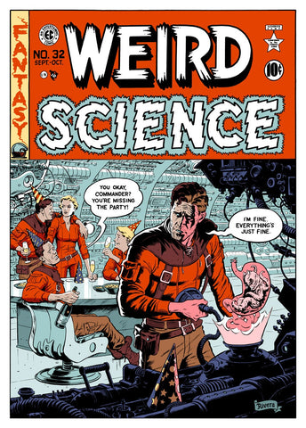 WEIRD SCIENCE (regular) by PAOLO RIVERA