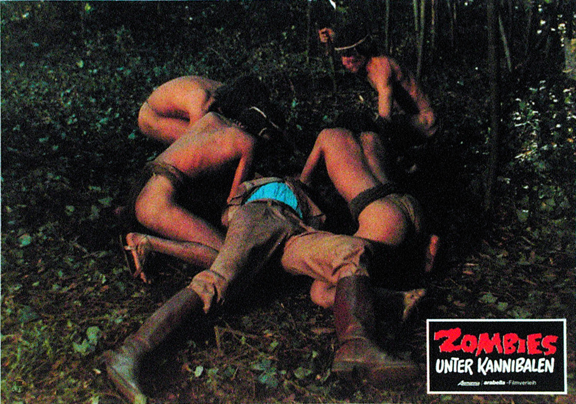 ZOMBIE HOLOCAUST - German lobby card v09
