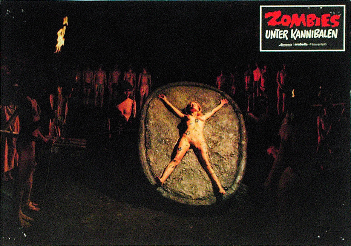ZOMBIE HOLOCAUST - German lobby card v10