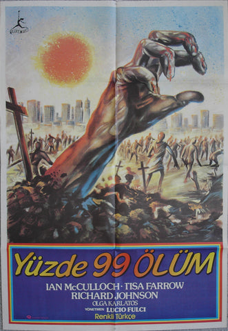 ZOMBIE - Turkish poster