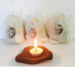 Bottle Cap Candle Sachets