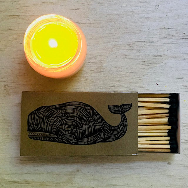 Match Boxes - Whale + Whaling Ship