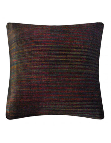 Brown handwoven cushion cover, 45 x 45cm