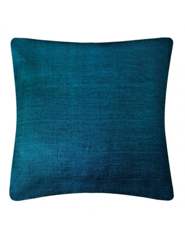 Cerulean handwoven cushion cover, 45 x 45 cm