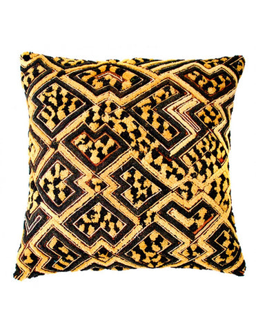 Burnt orange faux suede decorative throw pillow, 30 x 50cm