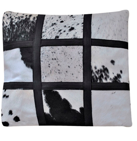 Large square square Nguni cushion cover