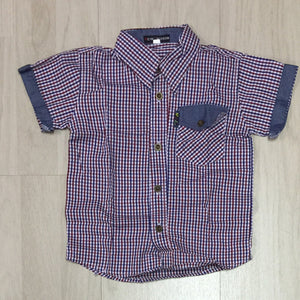OVERHEMD - U&L KIDS - 92 T/M 110 - MODEL 4
