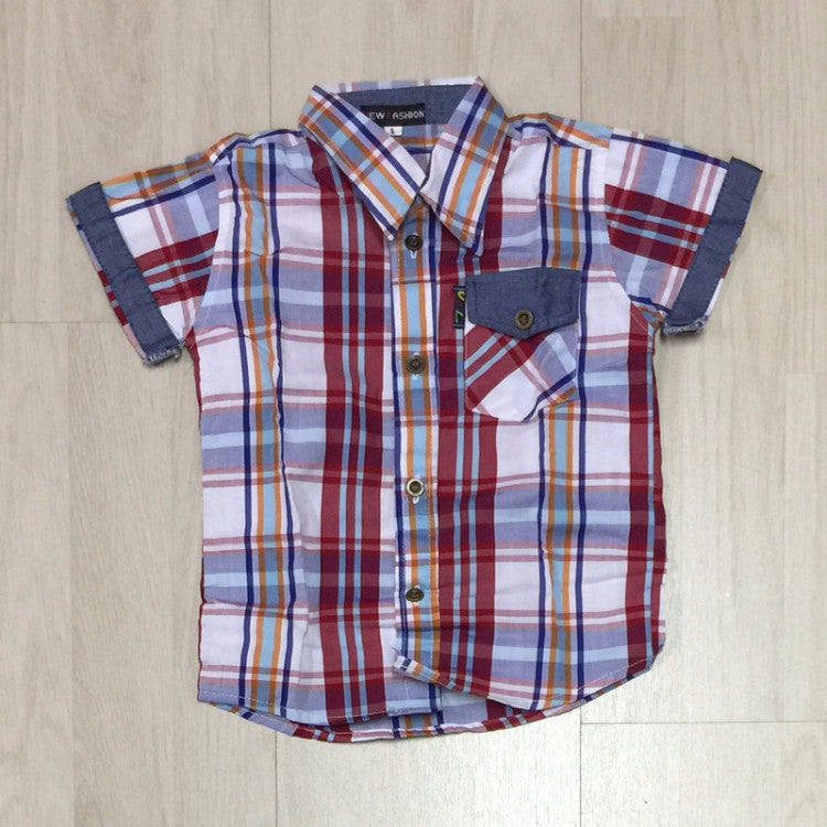 OVERHEMD - U&L KIDS - 92 T/M 110 - MODEL 3