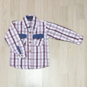 OVERHEMD - U&L KIDS - 92 T/M 110 - LM MODEL 1