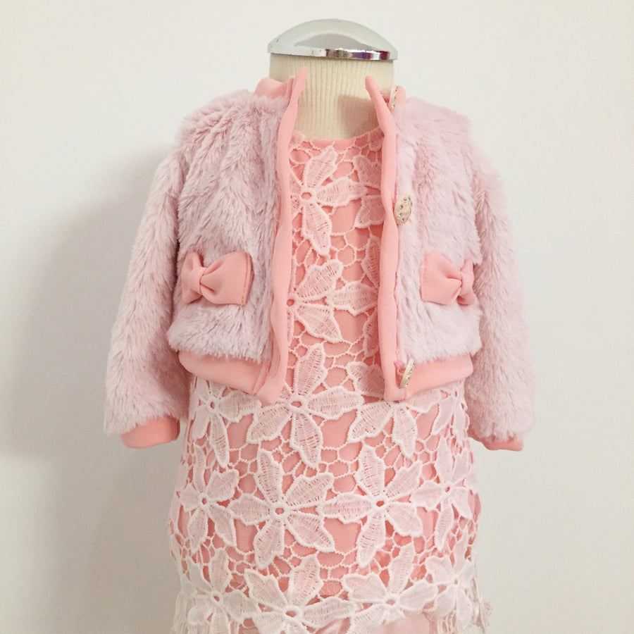 BABY GIRL - SETJE CHICAPRIE 147 - ROZE - MAAT: 62 T/M 86