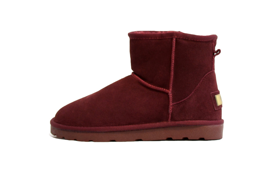 Dames Schoenen - Bootie - Model Mini - Bordeaux