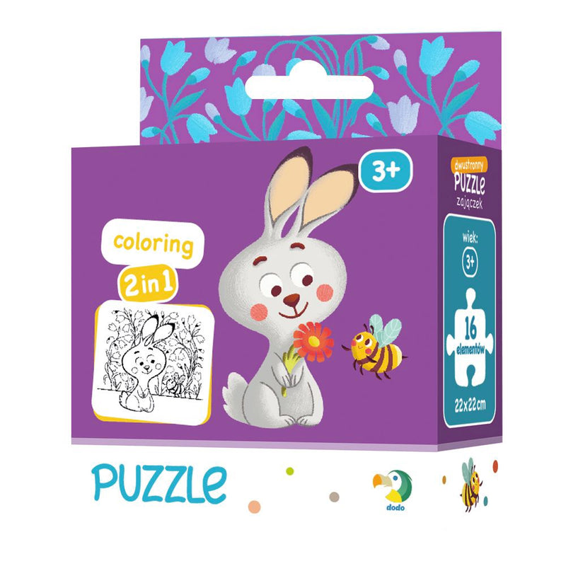 Dodo Colouring Puzzle 2 in 1 Leveret